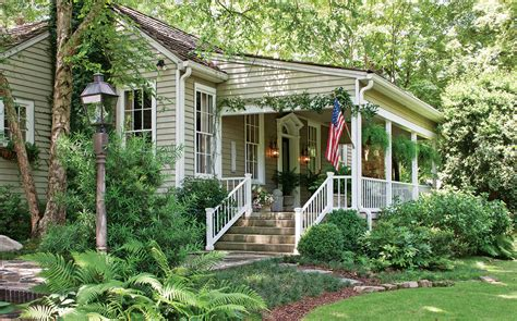 Cottage Porch by Cottage Garden Charm Southern Magazine