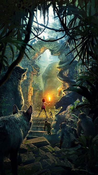 Iphone Nature Poster Film Jungle Junglebook Wallpapers