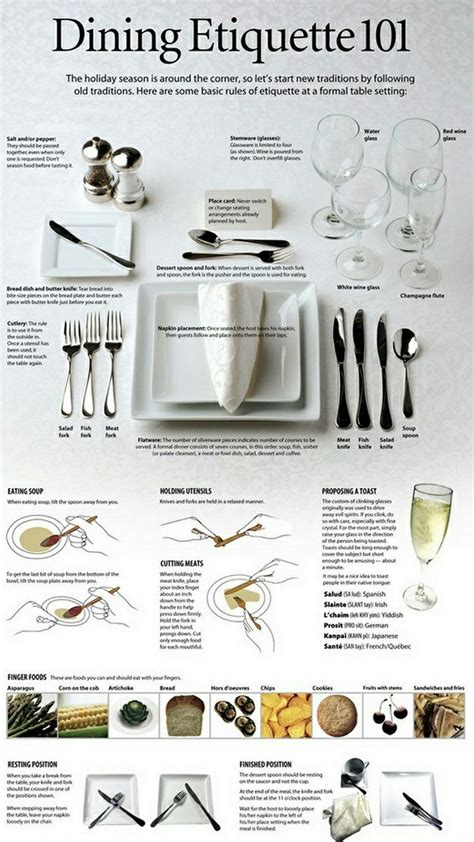 dining etiquette 1000 images about table manners matter on pinterest