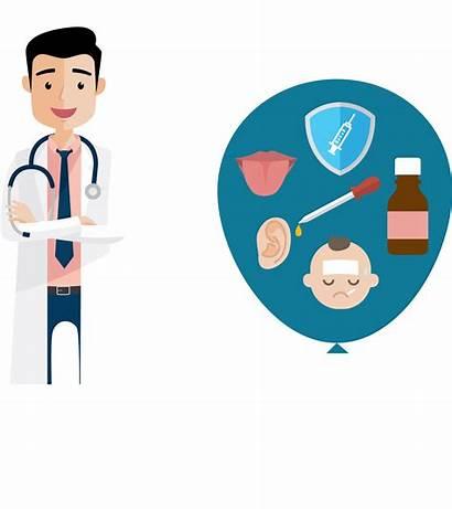 Pediatric Clipart Doctor Pediatrician Cartoon Pediatrics Transparent