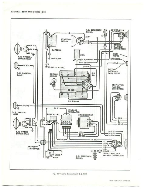 Gmc Truck Wiring Diagram Catalog Auto Parts