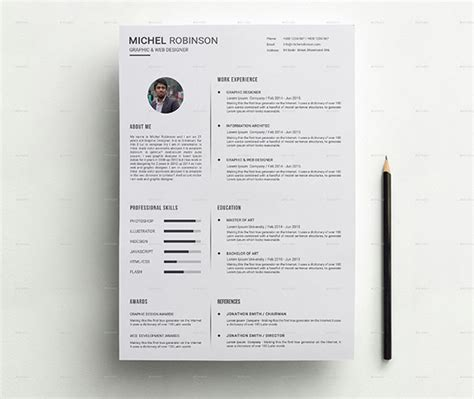 Clean Modern Resume Design by 35 Best Resume Templates Of 2016 Dzineflip