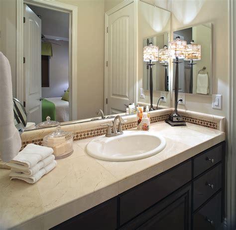 Nice Bathroom Ideas With Elegant Single Sink Vanity With