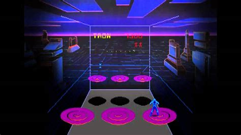 Discs Of Tron 1983 Classic Arcade Game Youtube
