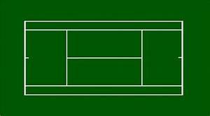 Tennis Court Dimensions  U0026 Layout Diagram