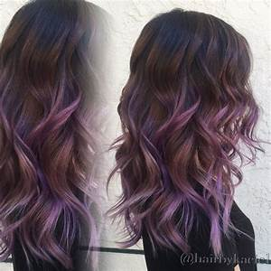 Purple Ombre Balayage | Black Hairstyles | Pinterest ...