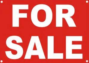 Printable Sign for Sale