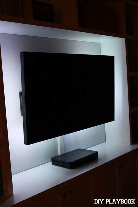 how to add led lights behind your flat screen television
