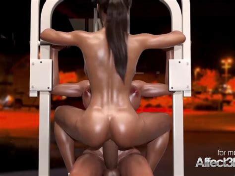 Big Tits Futanari Lesbians Having Sex In A Gym In A 3d
