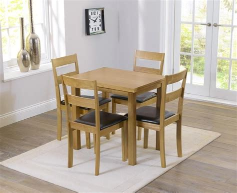 Buy Dining Table Chairs by 20 Best Collection Of Small Extending Dining Tables And 4