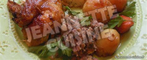 cuisine chapon roti chapon farci au foie de veau rôti au four plat