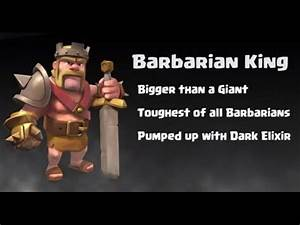 Clash of Clans: Barbarian King and Dragons Attack - YouTube