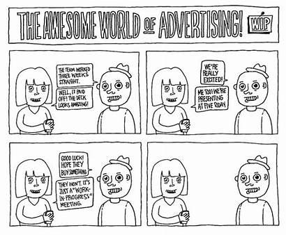 Advertising Agency Comic Strips Taking Comics Leaving