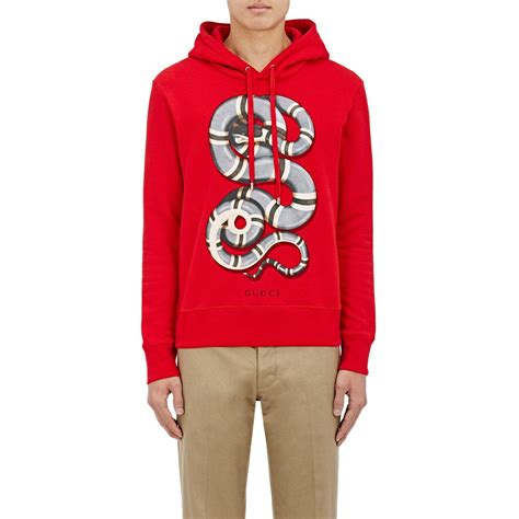 Gucci Snake in Red | Lyst