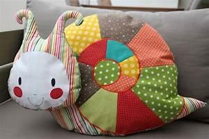 Petit Cadeau à Faire En Couture : tuto couture escargot ~ Melissatoandfro.com Idées de Décoration