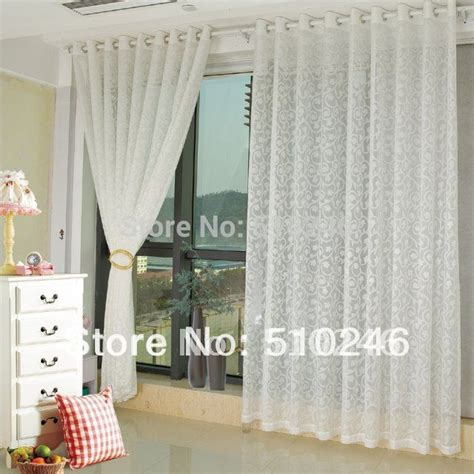 customized modern floral white home decoration window