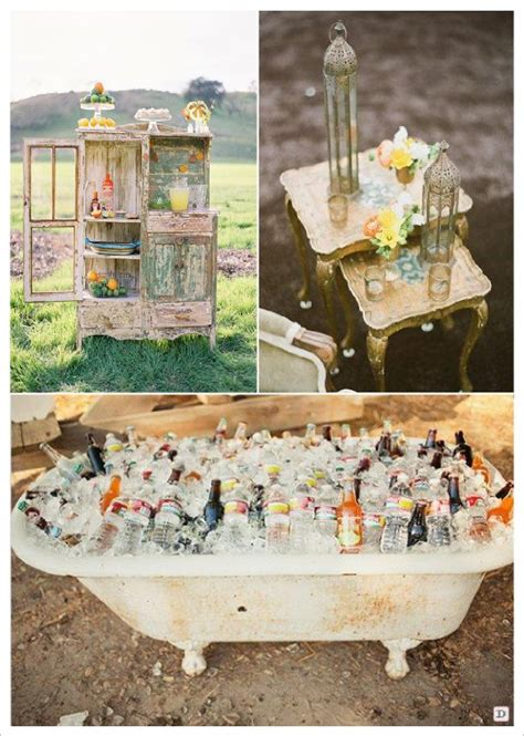 tendance outdoor decoration mariage en exterieur