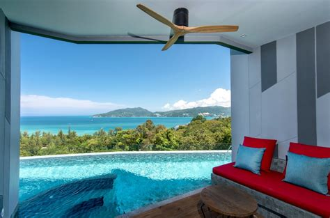 patong  sea view deluxe pool access sea view crest