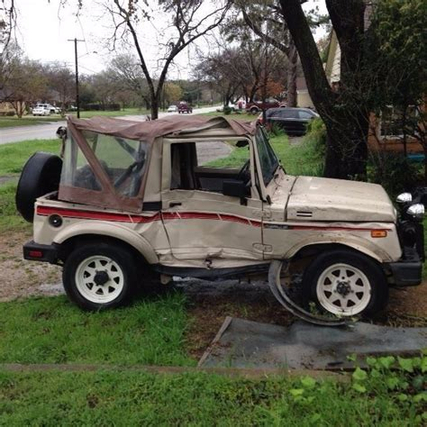 1987 Suzuki Samurai For Sale by 1987 Suzuki Samurai For Parts For Sale Photos Technical