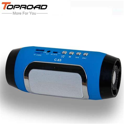 toproad hifi portable wireless bluetooth speaker stereo