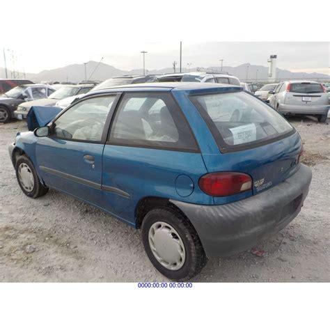 Suzuki Salvage by 2001 Suzuki Rebuilt Salvage