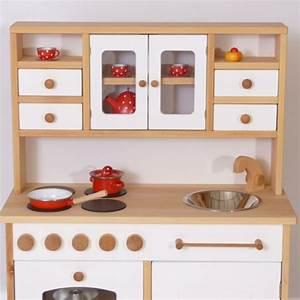 Kinderküche Aus Holz : holz kinderk che in wei holz spielzeug peitz ~ Orissabook.com Haus und Dekorationen