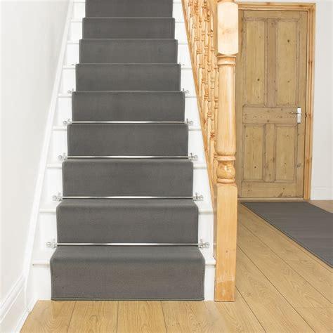 stair runners dark grey stair runner rug plain