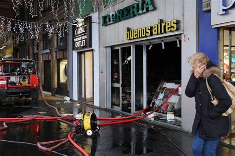 Libreria Corso Buenos Aires by Genova Incendio Distrugge La Libreria Di Corso Buenos