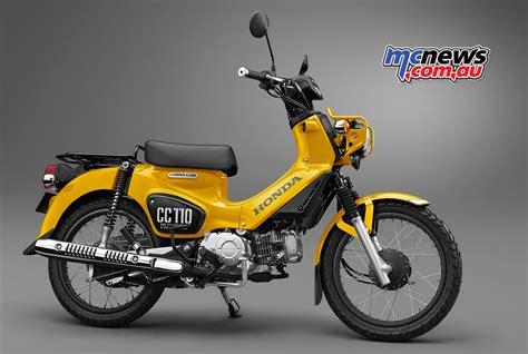 Gazgas Monkey 110 2019 by Honda Cub 110 Commemorative Edition Concept Mcnews