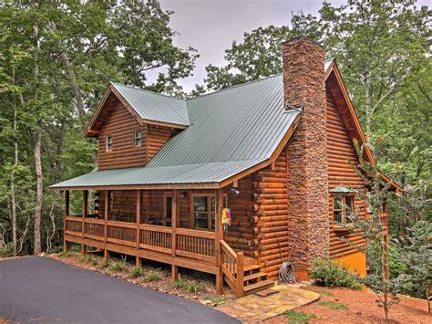 dahlonega ga cabins new peaceful 3br dahlonega log cabin w poo vrbo
