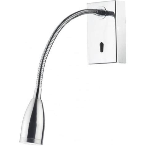 dar tad0750 tadley led wall light polished chrome