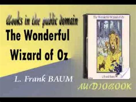 the wonderful wizard of oz l frank baum audiobook