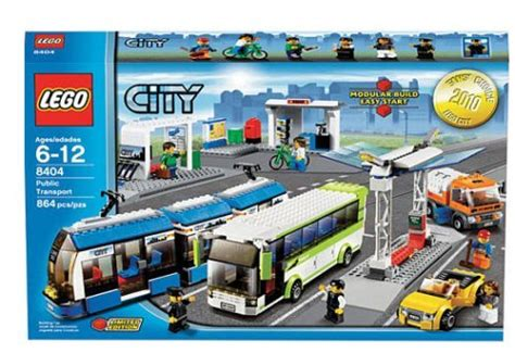 LEGO City Set #8404 Public Transport LEGO ANIME ITEMS