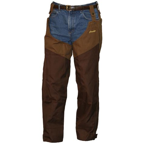 chaps blouses 39 s gamehide heavy upland chaps 232192 upland