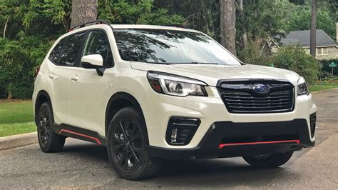 2019 Subaru Forester First Drive Review The Small, Quirky