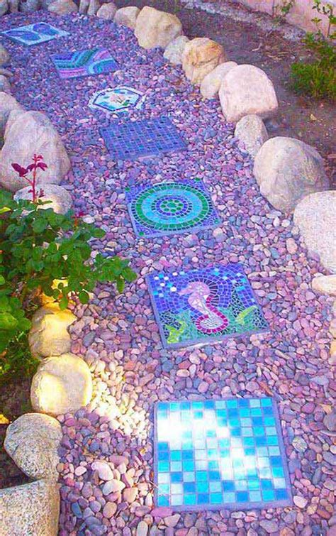 lay  stepping stones  path combo  update  landscape homedesigninspired