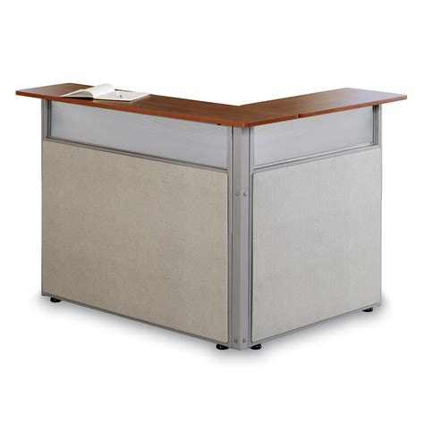 l shaped reception desk ofm pg296 48 x 37 l shaped reception station homeclick com