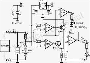 Battery Charger Display Using Lt1639 Circuit Diagram