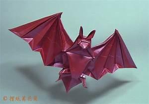 Origami Bat Miyajima Noboru