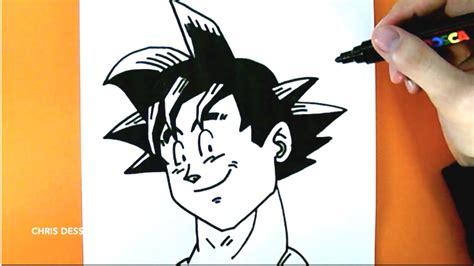 dessin facile comment dessiner goku