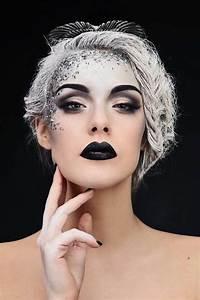 Fille Noir Et Blanc : le meilleur maquillage artistique dans 43 images ~ Melissatoandfro.com Idées de Décoration