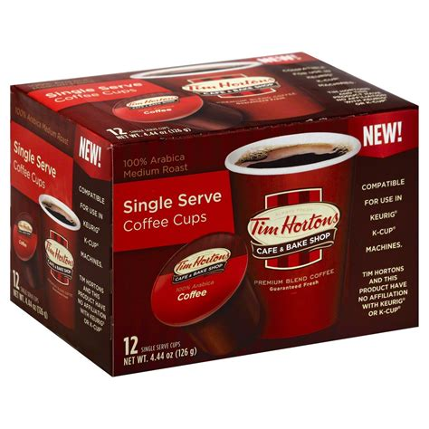 The staff is more courteous than most tim hortons. Tim Hortons Cafe & Bake Shop Medium Roast Single Serve Coffee Cups - Shop Coffee at H-E-B