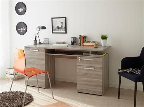 home study desks furniture perseo modern study desk in silex oak wood effect finish