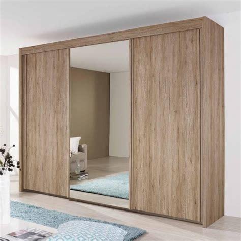 Wooden Mirror Wardrobe by Rauch Imperial Sliding Wardrobe