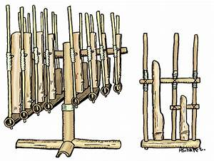 Musical instruments : angklung