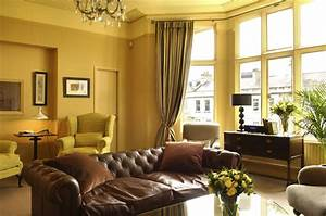 Yellowish Color Schemes For Living Room