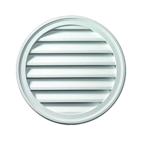 attic fan louver cover fypon 24 in x 24 in x 1 5 8 in polyurethane functional