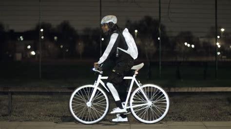 spray  reflective paint  bikers  night gear junkie
