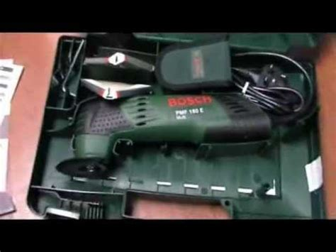 bosch pmf 180 e zubehör bosch pmf 180 e multifunctional all rounder deluxe set with 24 accessories look