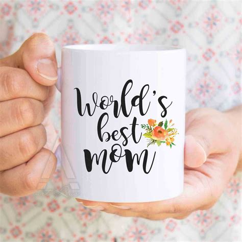 christmas gifts for mom quot world s best mom quot coffee mug mom